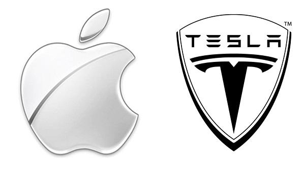 Apple может приобрести Tesla