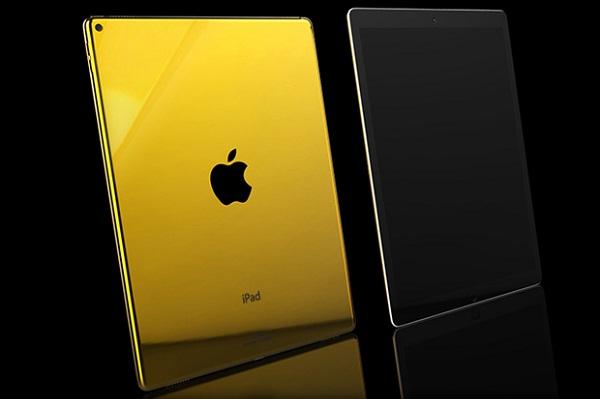 IPad Pro изготовили из золота