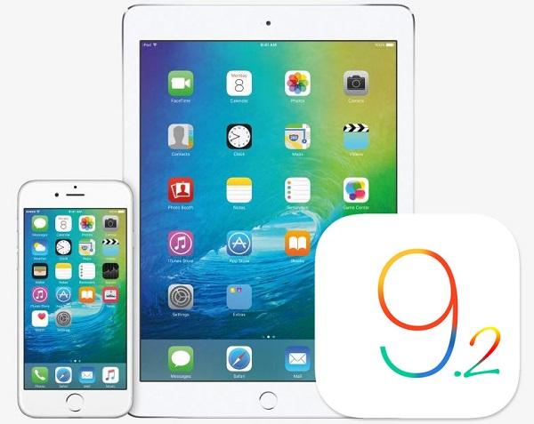 Apple выпустила iOS 9.2