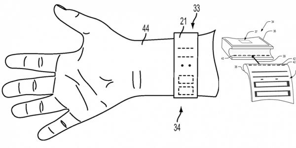 Apple запатентовала дисплей из плетёной ткани