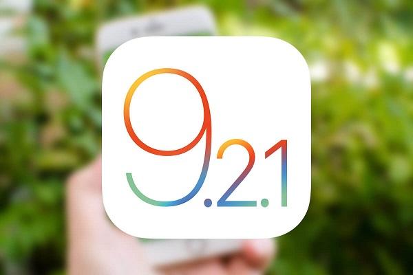 Обновление iOS 9.2.1